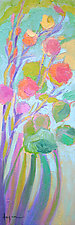 Stand Tall and Bloom by Dorothy Fagan (Oil Painting)