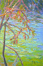 Autumn Glistening by Dorothy Fagan (Paintings & Drawings Oil Paintings)
