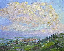 After the Storm by Dorothy Fagan (Oil Painting)
