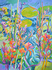 A Lily Pond of My Own by Dorothy Fagan (Oil Painting)