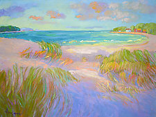 Tide Coming In by Dorothy Fagan (Oil Painting)