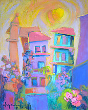 Garden of the Heart by Dorothy Fagan (Oil Painting)