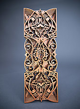 Spadille by Philip Roberts (Wood Wall Sculpture)