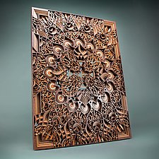 Octave by Philip Roberts (Wood Wall Sculpture)