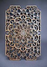 Ansari by Philip Roberts (Wood Wall Sculpture)