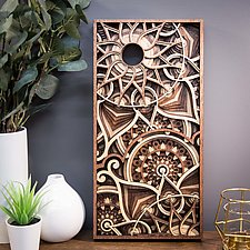 Ambedo by Philip Roberts (Wood Wall Sculpture)