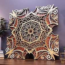 Dalliance by Philip Roberts (Wood Wall Sculpture)