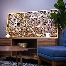 Entropy by Philip Roberts (Wood Wall Sculpture)