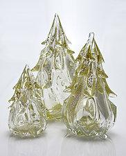 Tree Sculptures by Michael Richardson, Justin Tarducci and Tim Underwood (Art Glass Sculpture)