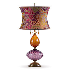 Natasha by Susan Kinzig and Caryn Kinzig (Mixed-Media Table Lamp)