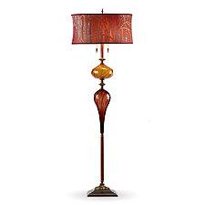 Esteban by Susan Kinzig and Caryn Kinzig (Mixed-Media Floor Lamp)