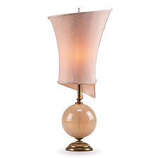 Celia by Susan Kinzig and Caryn Kinzig (Mixed-Media Table Lamp)