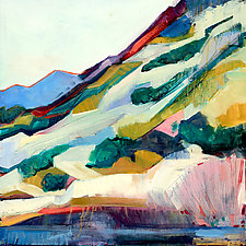 Fire on the Ridgeline by Abigale Palmer (Giclee Print)