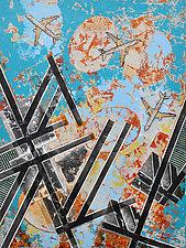 Stillness and Flight by Chin Yuen (Acrylic Painting)