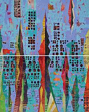 Amongst Stars by Chin Yuen (Acrylic Painting)