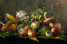 Windfall Apples by Lynn Karlin (Color Photograph)