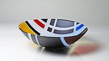 A Bowl For Mr. Gorin (No.2) by Jim Scheller (Art Glass Bowl)