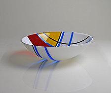 A Bowl For Jean by Jim Scheller (Art Glass Bowl)