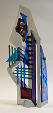 Windswept II by Sabra Richards (Art Glass Sculpture)