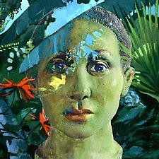 Caribbean Thoughts Mashup by Julia Santos Solomon (Giclee Print)