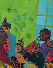 City Birthday Party by Julia Santos Solomon (Giclee Print)