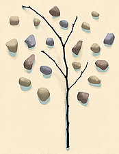 Sticks and Stones 5 by James Steinberg (Giclee Print)
