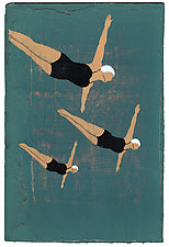 Divers by James Steinberg (Giclee Print)