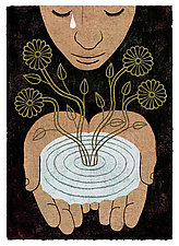 Growth by James Steinberg (Giclee Print)