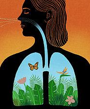 Breathe by James Steinberg (Giclee Print)
