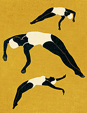 Divers No.3 by James Steinberg (Giclee Print)