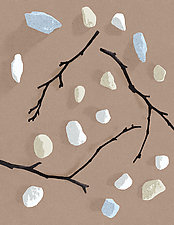 Sticks and Stones 2 by James Steinberg (Giclee Print)