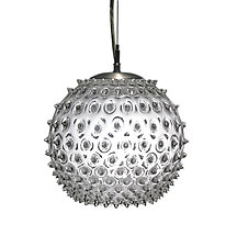 Standard Urchin Pendant by R. Guy Corrie (Art Glass Pendant Lamp)