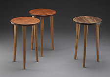 Tripod by Brian Hubel (Wood Side Table)