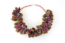 Shell Necklace #6 by David Forlano and Steve Ford (Polymer Clay Necklace)