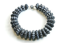 Big Bead Necklace #183 by David Forlano and Steve Ford (Polymer Clay Necklace)