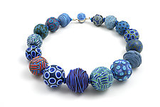 Big Bead Necklace 54 by David Forlano and Steve Ford (Polymer Clay Necklace)