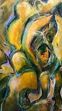 Magnolia II by Kathryn Pistor (Acrylic Painting)