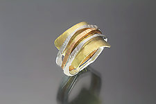 Rye Ring 1 by Sana  Doumet (Gold & Silver Ring)