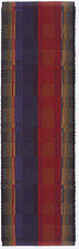 Pinwheel Table Runner in Purple and Red by Kelly Marshall (Cotton & Linen Table Runner)
