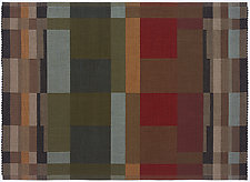 Pinwheel II by Kelly Marshall (Cotton & Linen Rug)