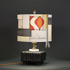 Winter in July by James Aarons (Mixed-Media Table Lamp)