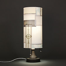Midnight Summer Dream by James Aarons (Mixed-Media Table Lamp)