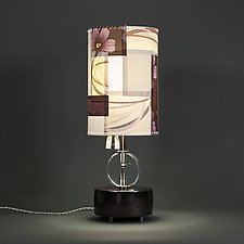 Round the Bend by James Aarons (Mixed-Media Table Lamp)