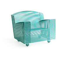 Philly Club Chair by Damian Velasquez (Metal Chair)