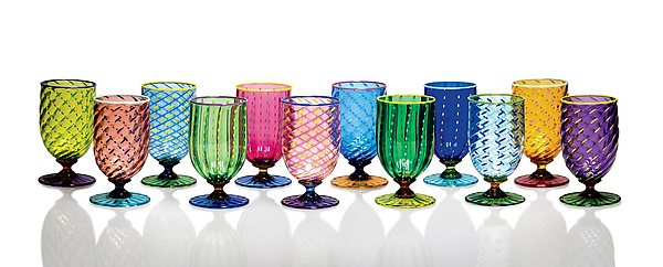 Tutti Frutti Water Glasses II