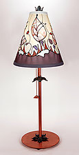 Classic Conical Shade Lamp 6 by Stuart Loten (Mixed-Media Table Lamp)