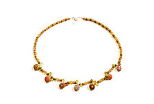 Pebble Necklace #57 by David Forlano and Steve Ford (Beaded Necklace)