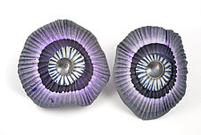 Shell Earrings by David Forlano and Steve Ford (Polymer Earrings)