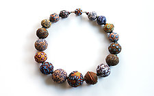Big Bead Necklace #200 by David Forlano and Steve Ford (Polymer Clay Necklace)