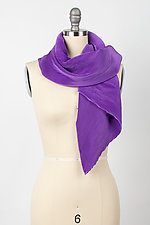 Angle Pleat Scarf by Britt Rynearson  (Woven Scarf)